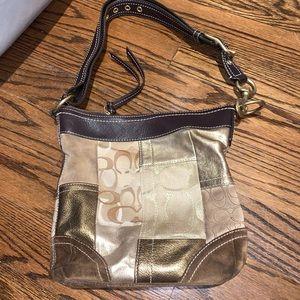 Coach patterned bag
